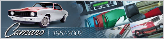 Banner Graphic for 1967-2002 Chevy Camaro Models