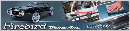 Header Graphic for 1967-2002 Pontiac Firebird and Trans Am Models