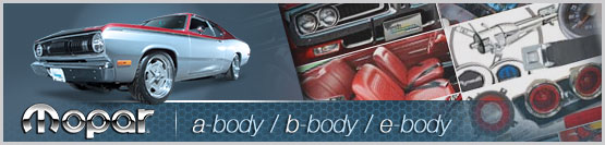 Header Graphic for 1960-1976 Dodge and Plymouth Mopar models