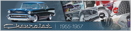 Header Graphic for 1955 1956 1957 Tri-Five Chevy Models