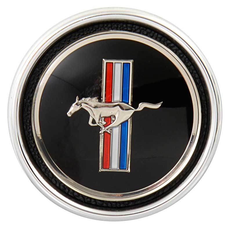1967-1968 All Makes All Models Parts | 04491C | 1967 Mustang Dash Trim  Emblem And Base Set | Classic Industries