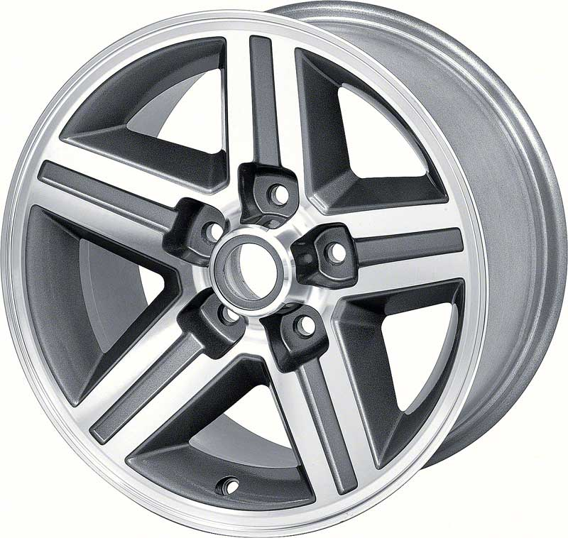 16 x 8  Front IROC-Z Style Aluminum Wheel 5 x 4-3/4 Bolt Pattern 4-1/4 Backspace - Each