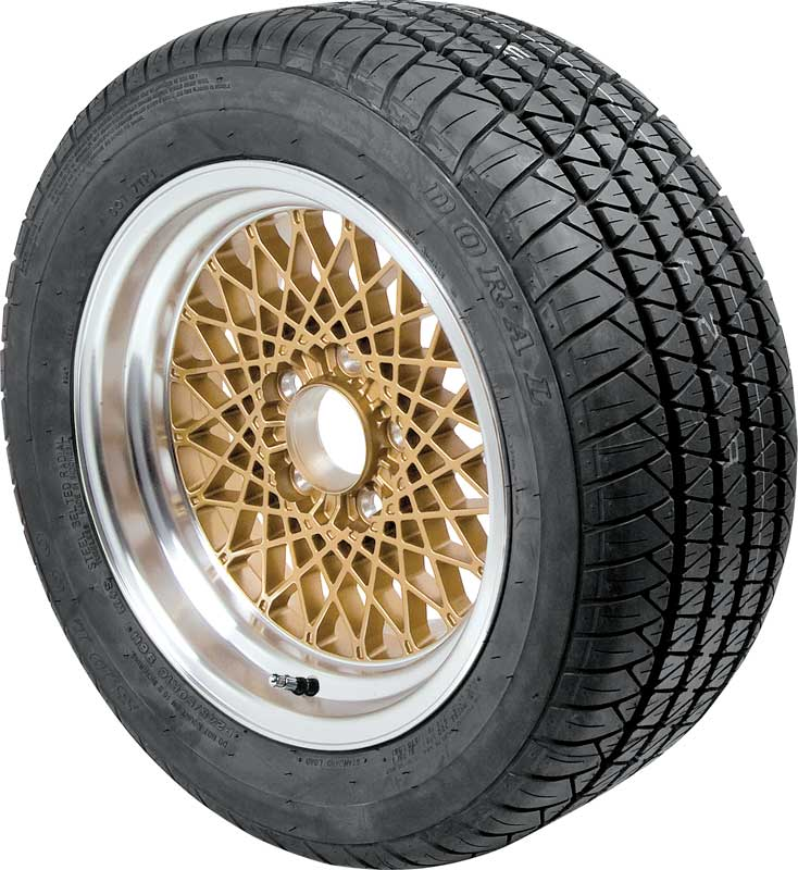 16 X 8 Gold GTA Style Alloy Wheel with 5 Backspacing and 16mm Offset