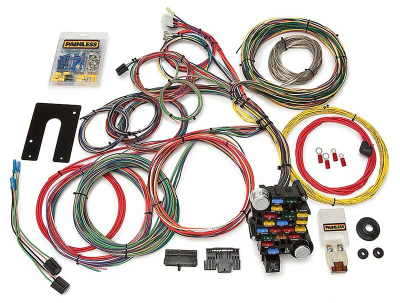 10201 1930 2007 all makes all models parts 10201 painless 28 circuit 1971 El Camino Wiring Harness at gsmportal.co