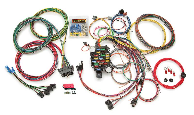 gm truck parts 10206 1967 72 gm truck painless 28 circuit 10206 1967 72 gm truck painless 28 circuit complete wiring harness