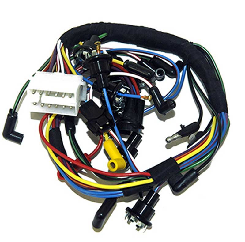 10b942c - 1967 mustang without tach instrument dash cluster wiring harness