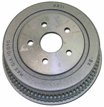 1962-73 Ford / Mercury 5-Lug Replacement Front Brake Drum - 10 x 2-1/4
