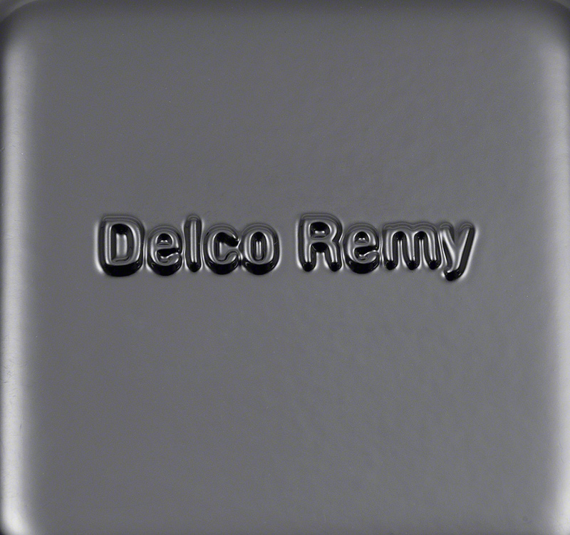 1962-72 External Voltage Regulator with Delco Remy Markings for 63 Amp Alternator