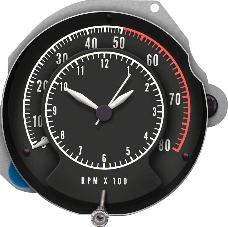 mopar parts dash components gauges oe classic industries 1968 70 mopar b body rallye tachometer clock