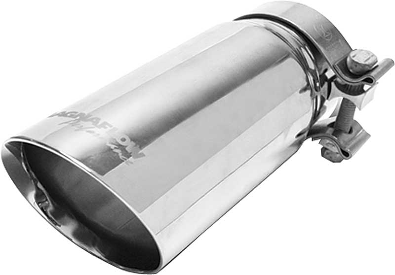 "Pypes Stainless Steel Exhaust Tips 2 1//2/"" Inlet Slip-On 2 1//4/"" Outlet Polished"