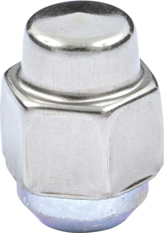1967-81 Stainless Steel Short Capped Short Crown Wheel Lug Nut