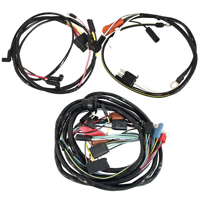 1965 ford mustang parts 14402c 65 mustang underhood wiring harness. Black Bedroom Furniture Sets. Home Design Ideas