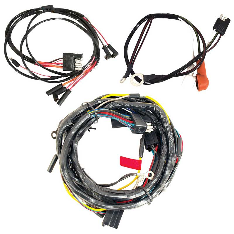 1965 ford mustang parts 14402g 65 mustang underhood wiring harness 260 289 w gauges \u0026 2 speed heater motor classic industries 5.3 vortec wiring harness diagram ford performance engine harness update