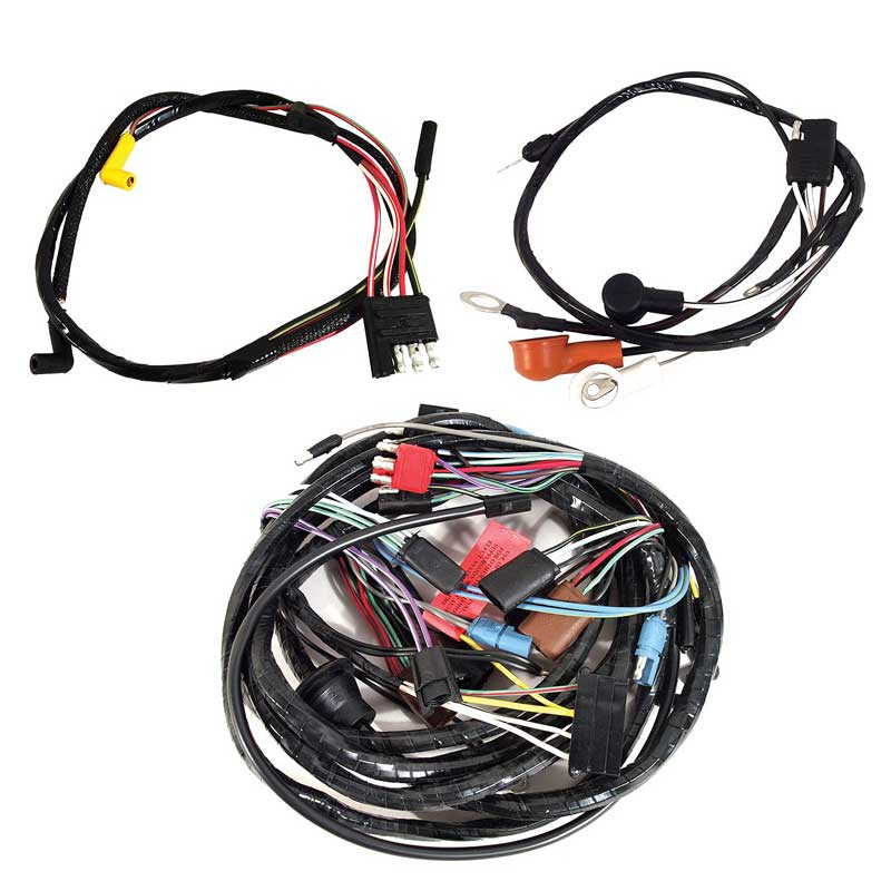 14402W  Ford Mustang Wiring Harness on replacement fox body, junction box,