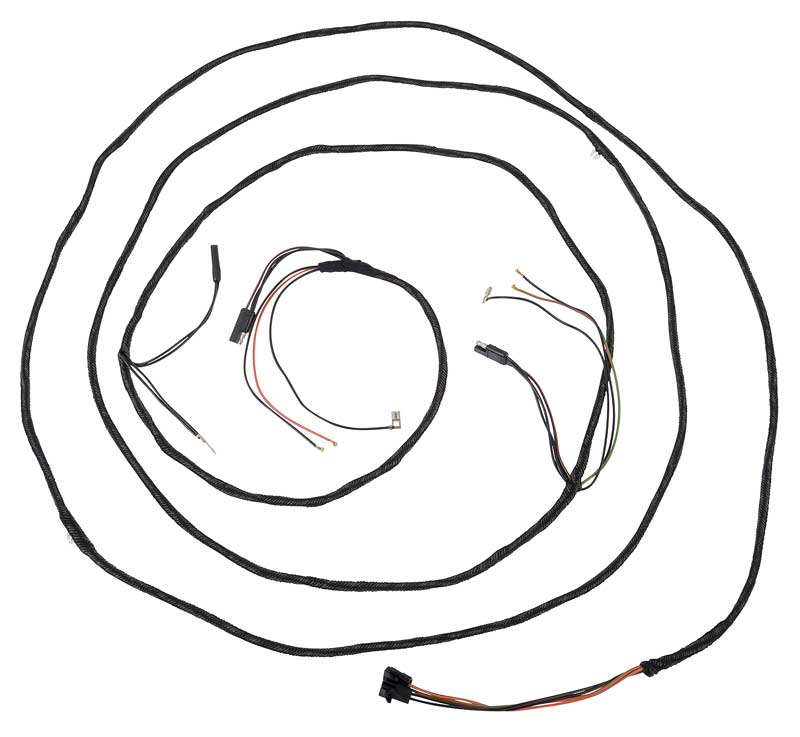 ford mustang parts electrical and wiring wiring and connectors 1966 Mustang Interior product 14405d
