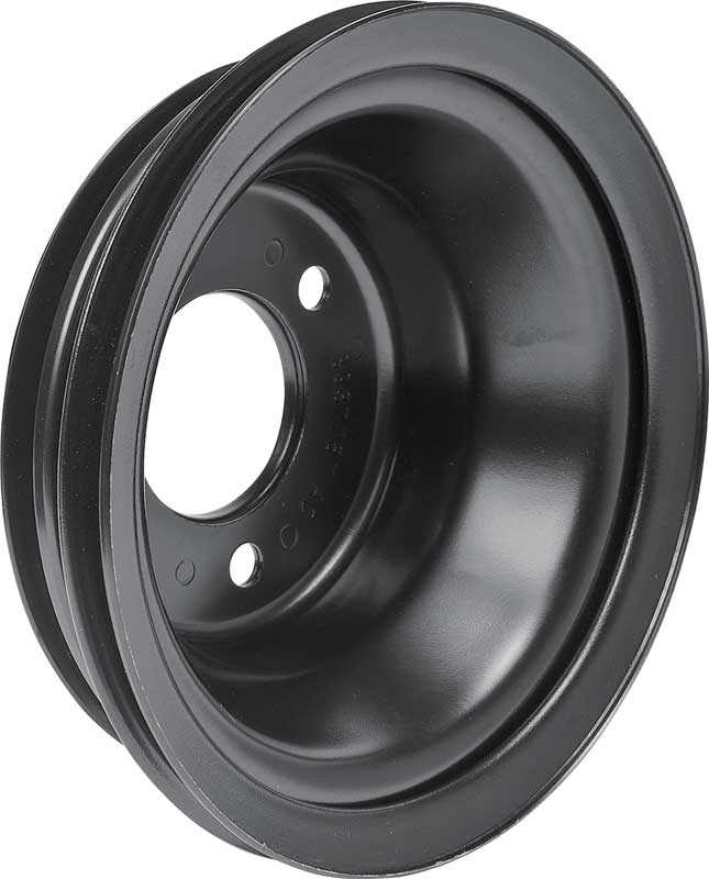 1969-86 Chevrolet Small Block Long Water Pump 7-11/16 O.D. Triple Groove Crankshaft Pulley
