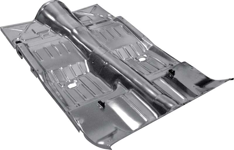 Exceptional 1968 74 Chevy II / Nova Complete Floor Pan Automatic Transmission EDP Coated