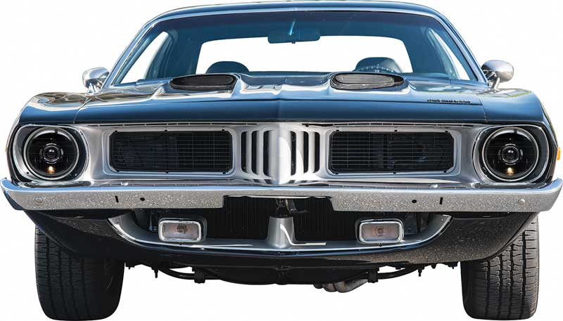 Old Plymouth Headlight : Plymouth fury parts  round projector