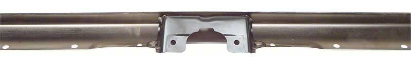 1967-68 Camaro Standard Replacement Rear Bumper with Center Bracket Installed