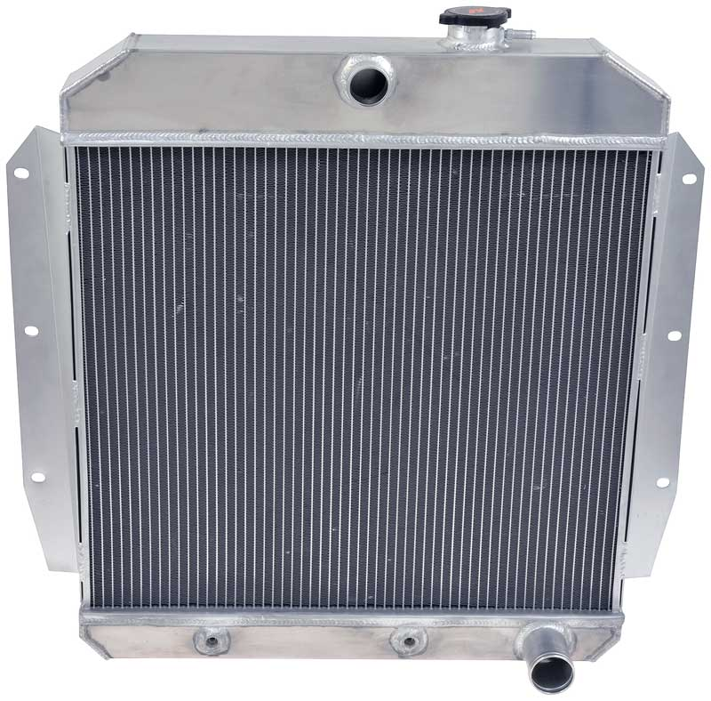 POLISHED 3 ROW ALUMINUM RADIATOR FOR 1955 56 57 59 Chevy//chevrolet truck Pickup
