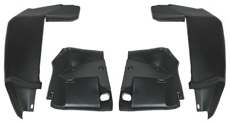 Convertible Weatherstrip Front /& Rear 8 Piece Kit 1964-66 Mustang Coupe