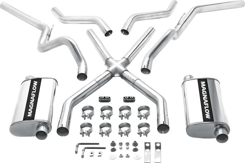 Click To Expand: Magnaflow Dual Exhaust Kits For Chevy Silverado At Woreks.co