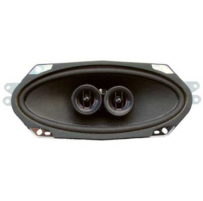 Dual Voice Coil 4 x 10 140 Watt Dash Speaker