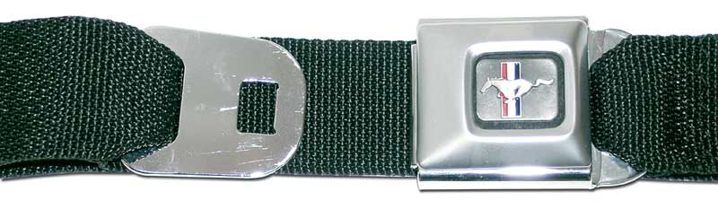 1964 All Makes All Models Parts | 19074 | MUSTANG SEAT BELT BUCKLE BLACK |  Classic Industries