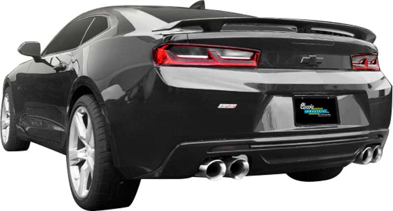 2016-17 Camaro 6.2L - Magnaflow Race Series Stainless Steel Axle-Back Exhaust System with Quad Tip