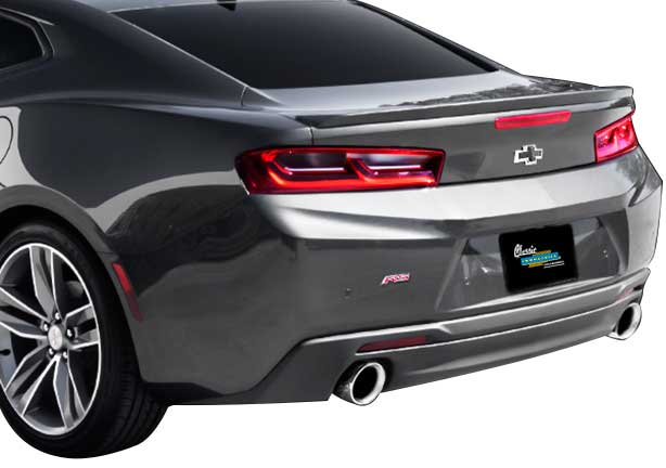 2016-17 Camaro 3.6L - Magnaflow Race Series Stainless Steel Axle-Back Exhaust System - w/o Quad Tip