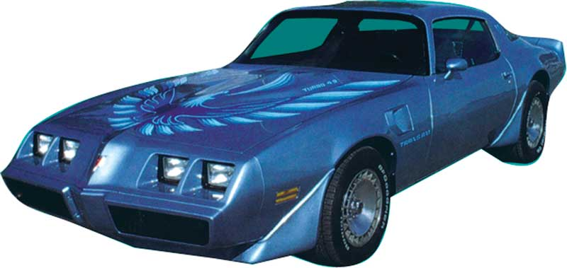 1980 pontiac firebird parts emblems and decals stencils and stripes classic industries. Black Bedroom Furniture Sets. Home Design Ideas