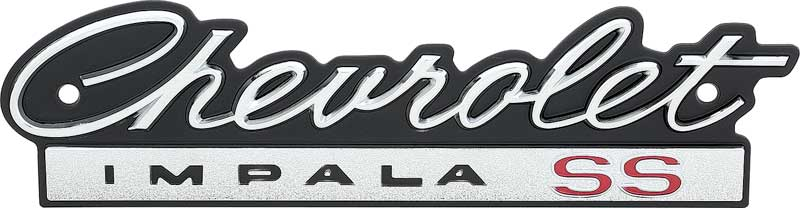 Chevrolet Impala Parts Emblems And Decals Classic Industries Page