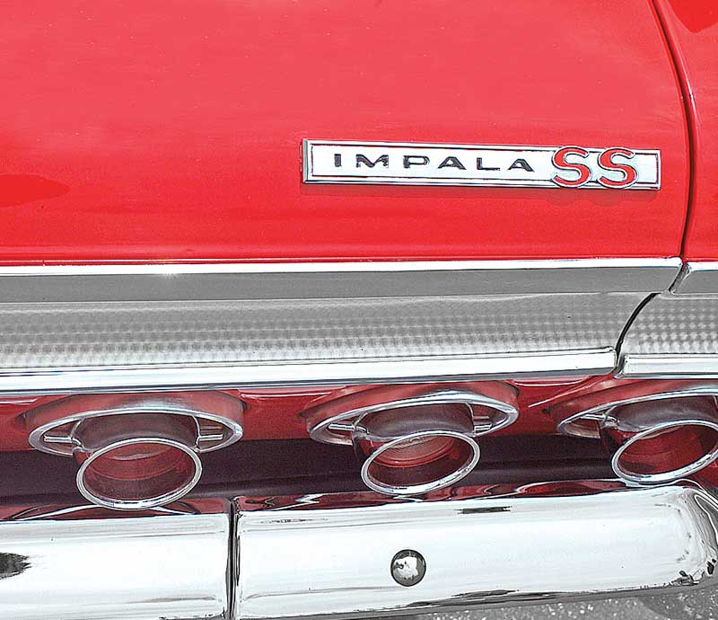1964 Impala SS Trunk Lid Emblem - Made In USA