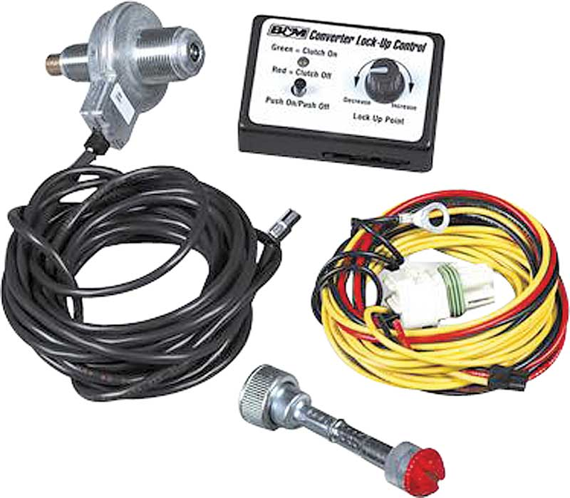 TCI Universal Lockup Wiring Kit For Use With 2004R/700R4 Transmissions