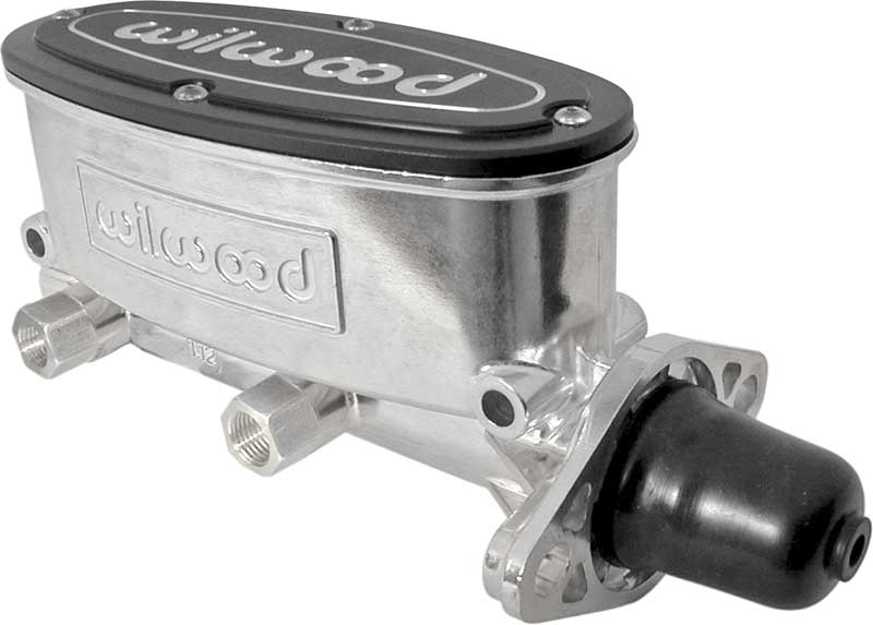 Wilwood Bright Polished Finish 4 Wheel Disc 7/8 Bore Manual Brake Tandem Master Cylinder