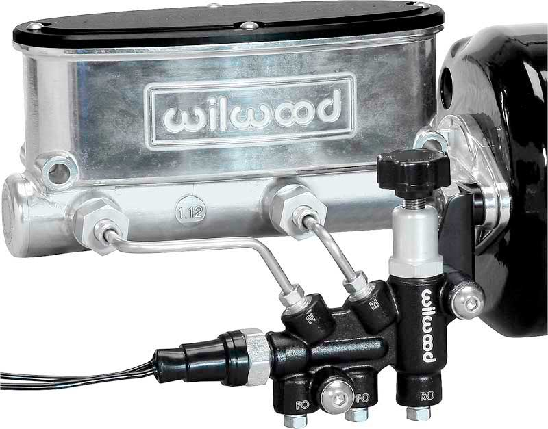Wilwood Ball Burnished Finish Disc Brake 7/8 Bore Manual Brake Tandem Master Cylinder