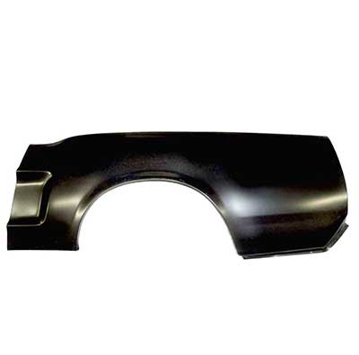 1971-1973 Ford Mustang Quarter Panel Skin RH Coupe//Convertible