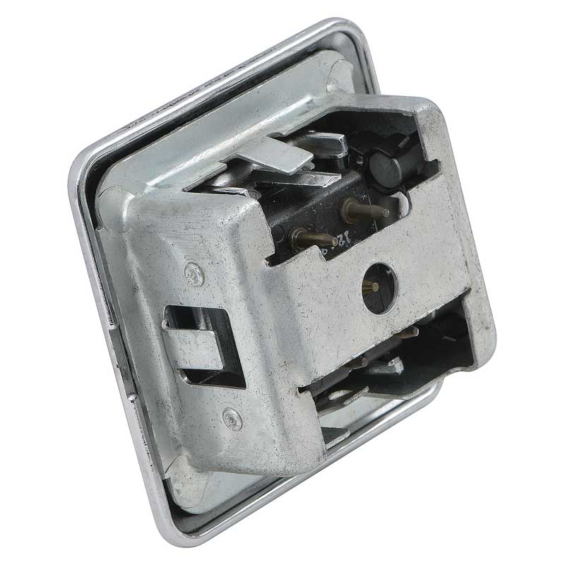 1969-77 Mopar Power Window Switch - 1 button - Concave Button