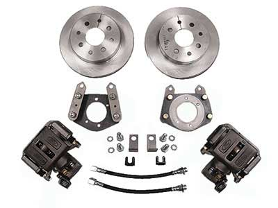 CAST IRON 1964-67 FORD MUSTANG FRONT KELSEY HAYS 4 PISTON DISC CALIPERS