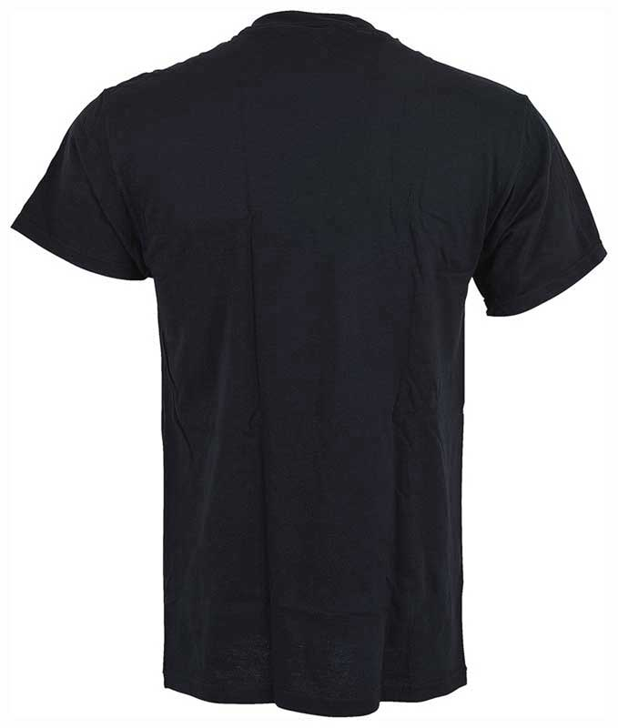 Large Black Distressed Look Yenko T-Shirt with Gray Logo
