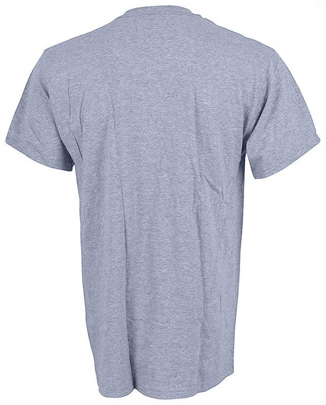 Large Gray Distressed Look Yenko T-Shirt with Gray Logo
