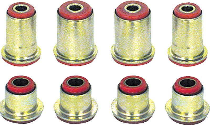 1966-74 Red Polyurethane Front Control Arm Bushing Set