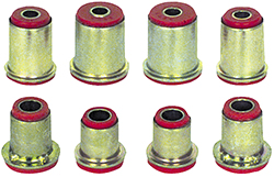 1974-79 Black Polyurethane Control Arm Bushing Set