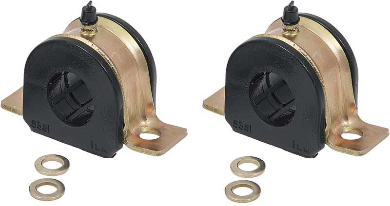 1991-1996 All Makes All Models Parts | 35183G | 1991-96 Impala / Caprice  Greaseable 30Mm Black Polyurethane Sway Bar Bushings | Classic Industries
