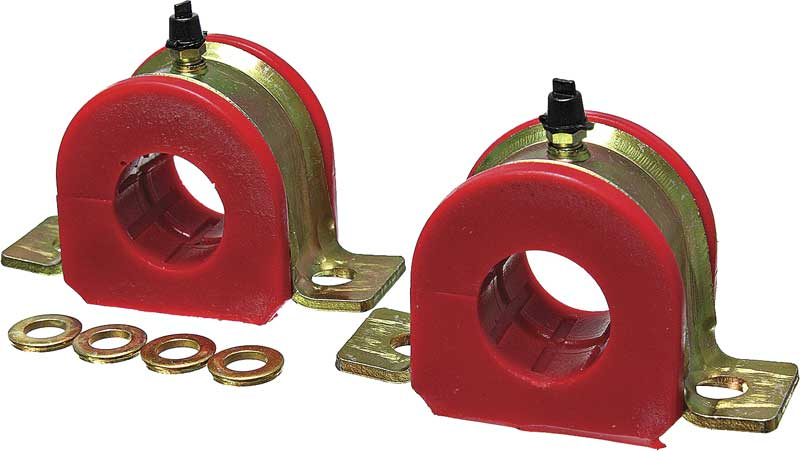 1991-96 Impala / Caprice Greaseable 30Mm Red Polyurethane Sway Bar Bushings