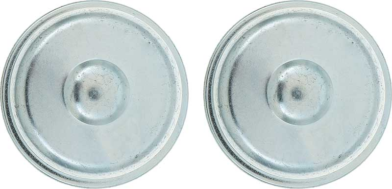 1961-72 Reproduction Front Wheel Bearing Grease Caps (1-25/32 O.D.)