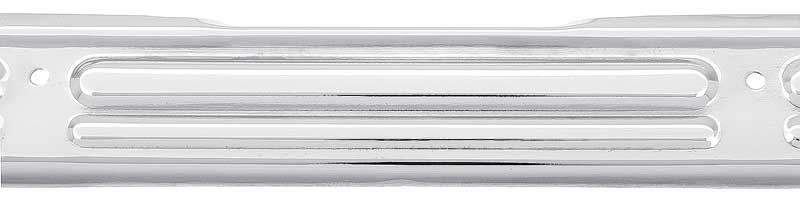 1967-72 GM Truck Door Sill Plate Without Logo Chrome