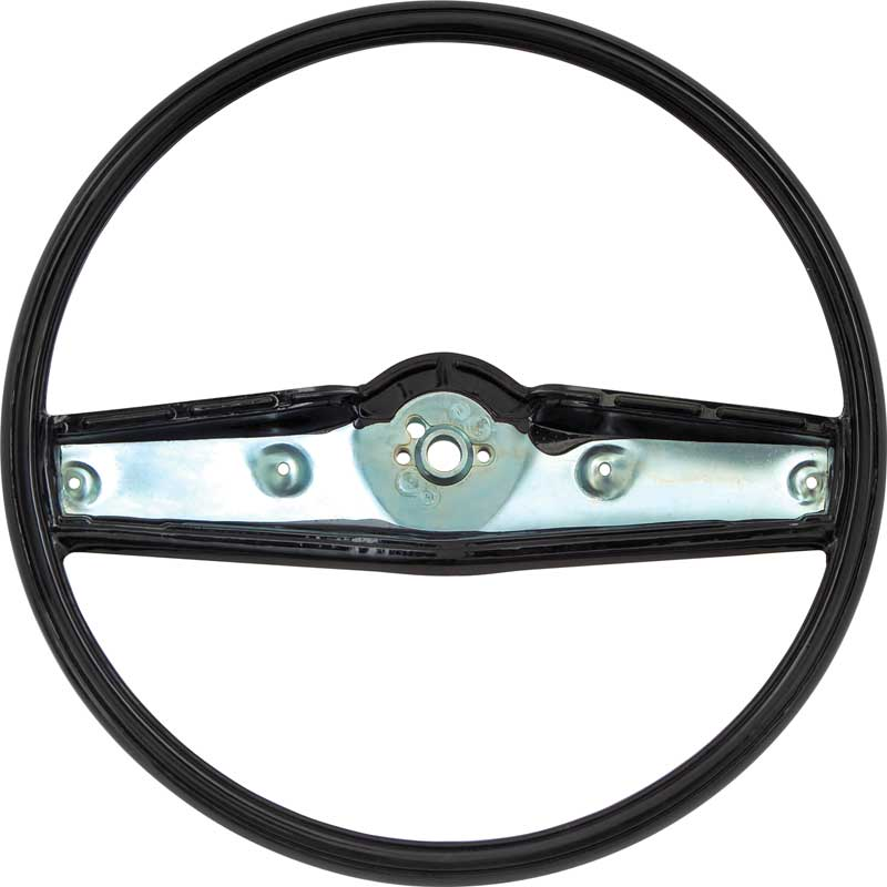 1969-70 Steering Wheel - Dark Blue - Standard Interior