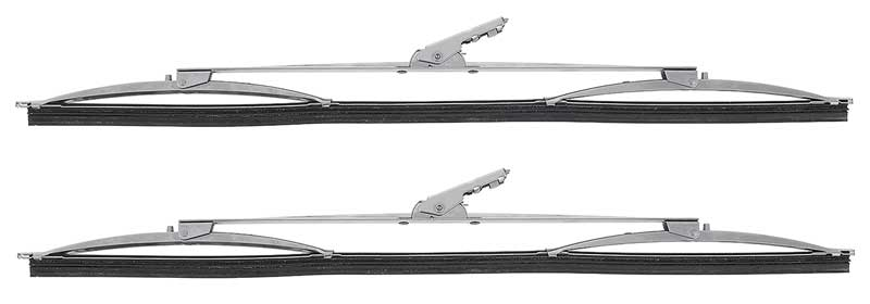 Windshield Wiper Blades; 16 ; Aero Style; Various Models; Pair