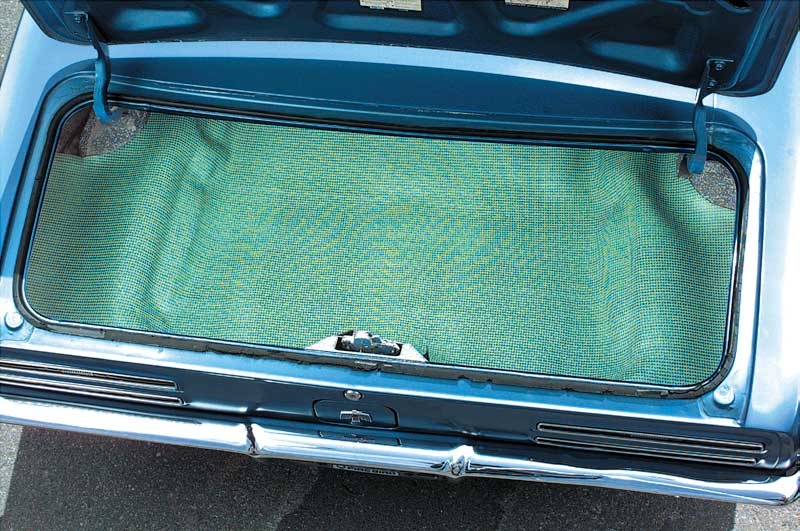 1967 Chevrolet Camaro Parts Body Components Trunk